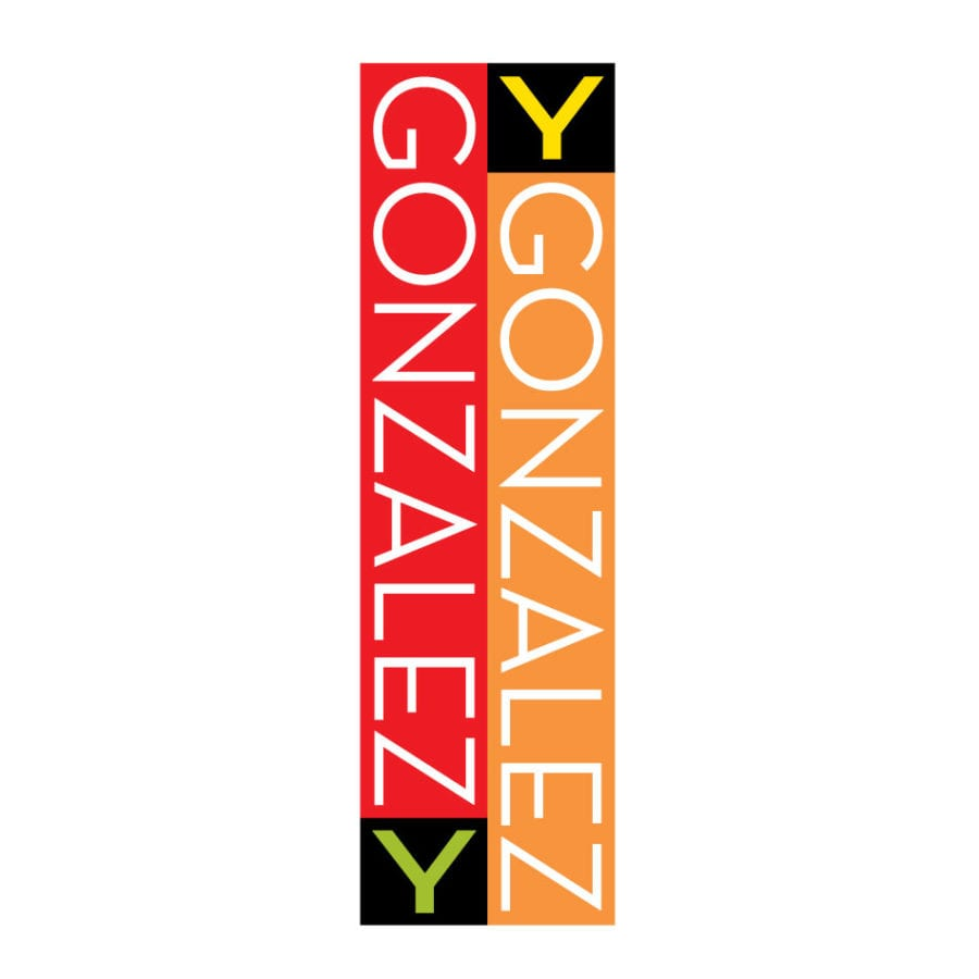 Gonzalez y Gonzalez logo, designed by Canyon Creative