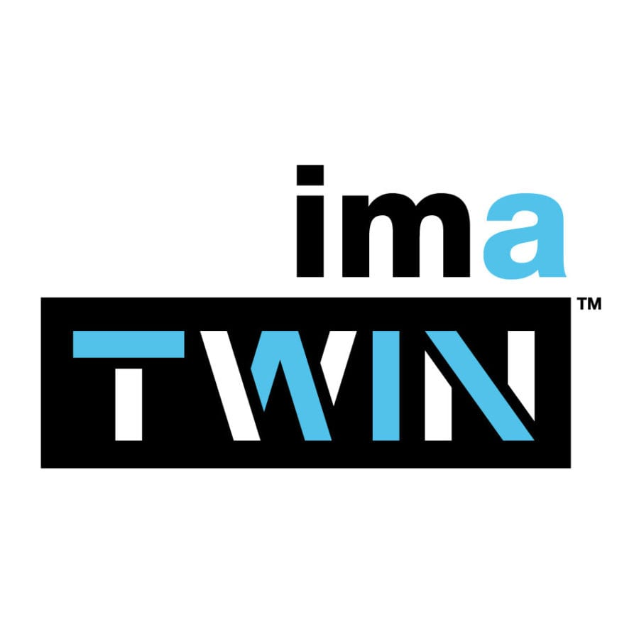 IMA Twin logo, designed by Canyon Creative