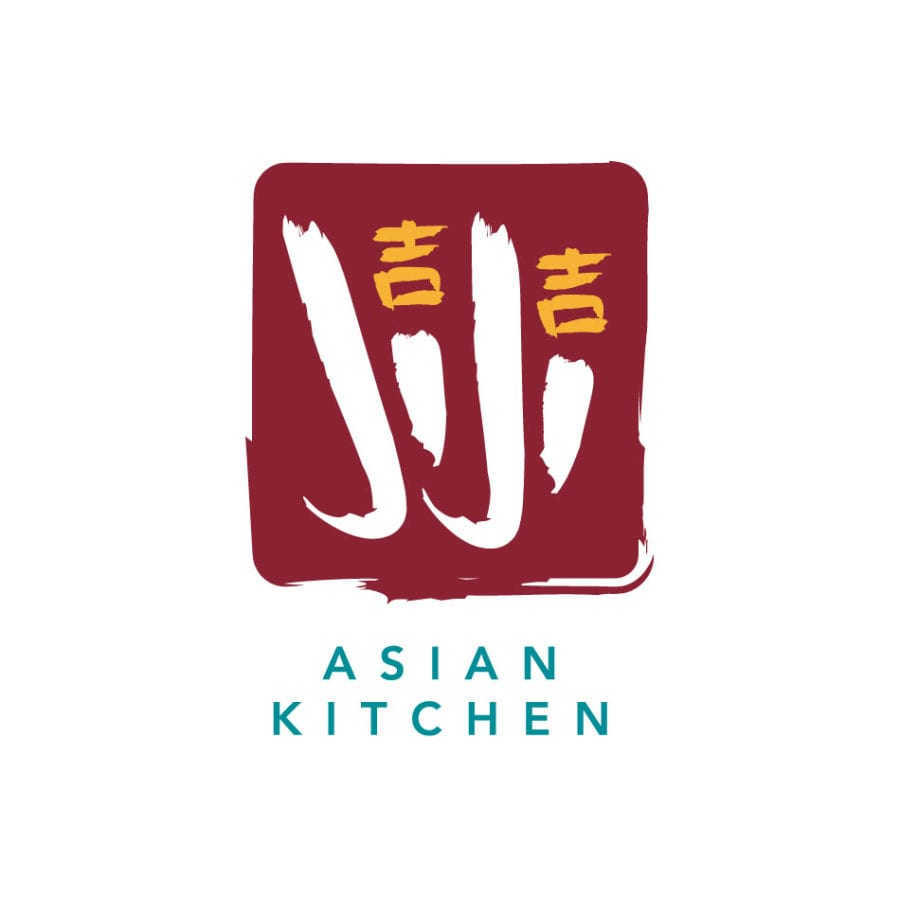 JiJi Asian Kitchen logo, designed by Canyon Creative