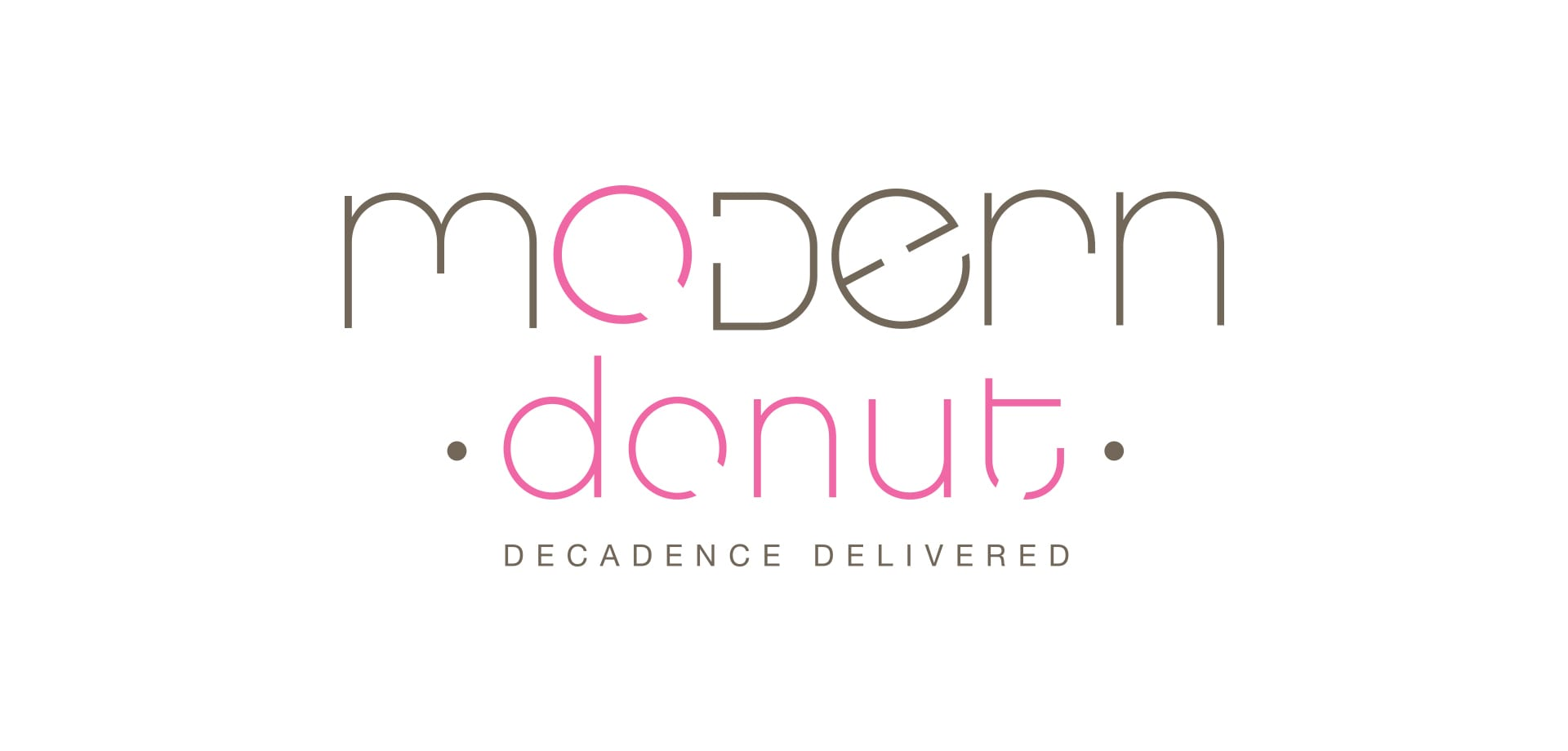 Modern Donut logo designed by Canyon Creative