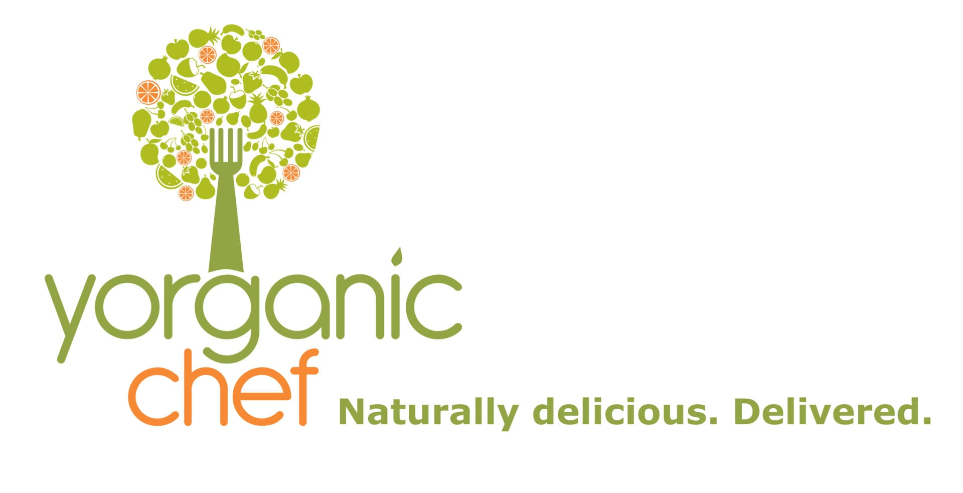 The Yorganic Chef logo designed by Canyon Creative