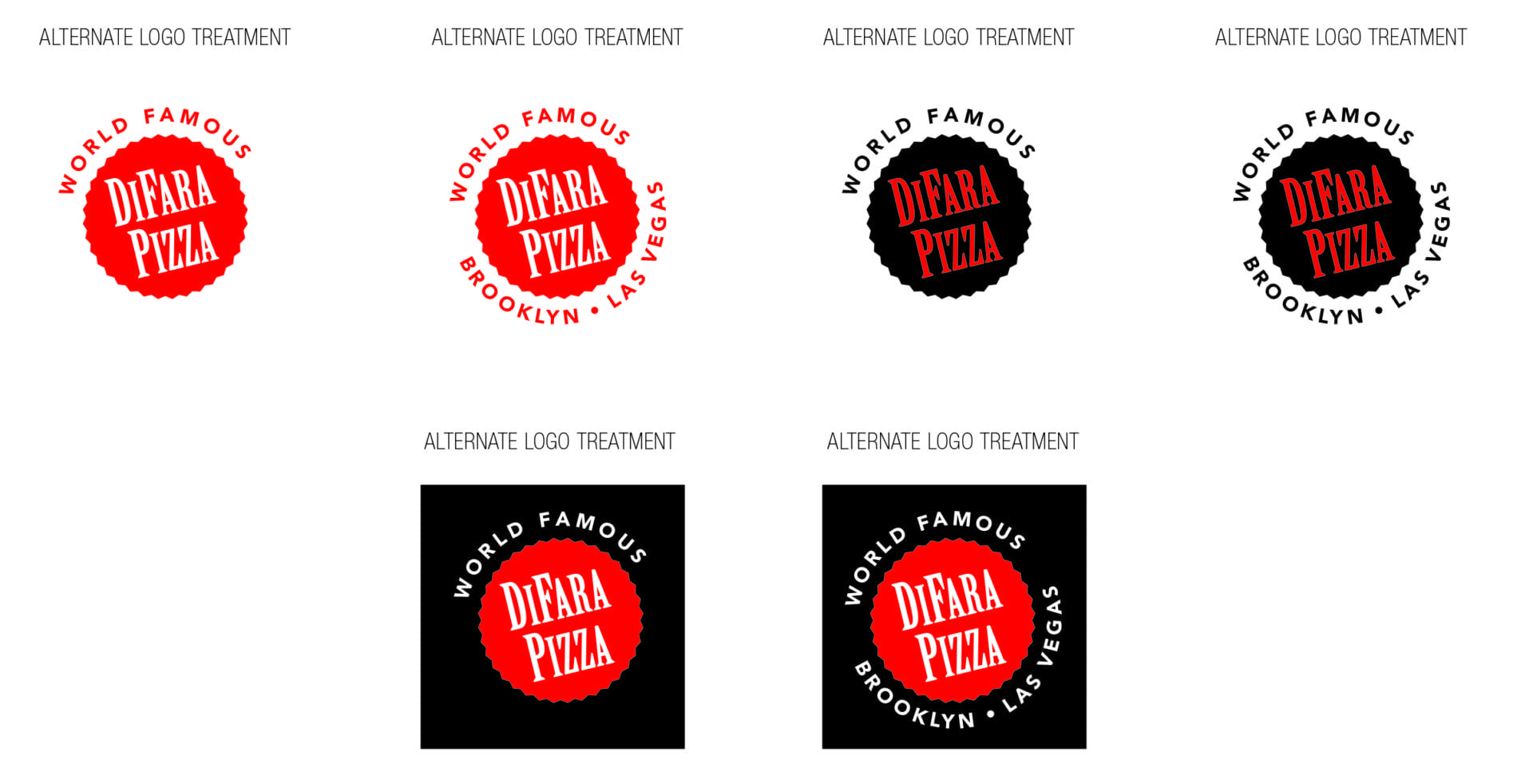 Di Fara Pizza alternate logos