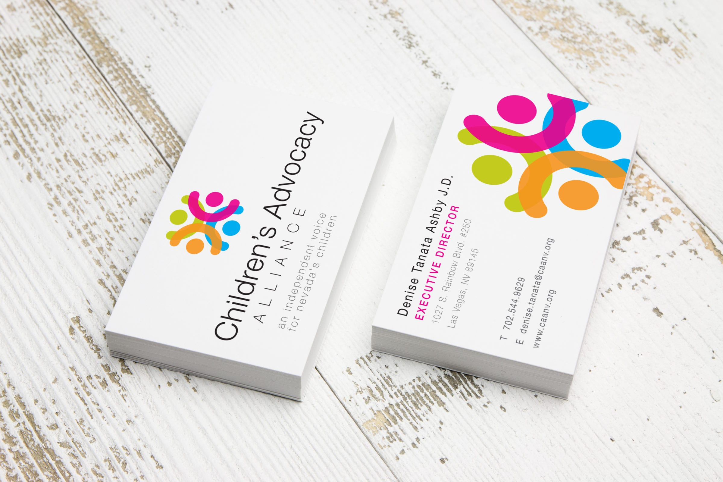 Children's Advocacy Alliance business cards