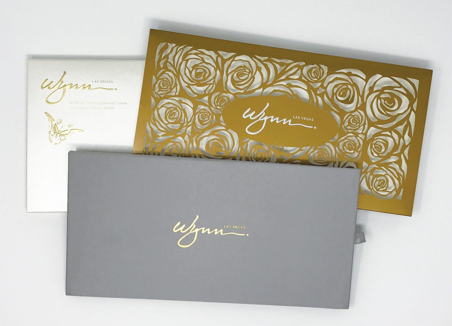 Wynn Las Vegas branded envelopes