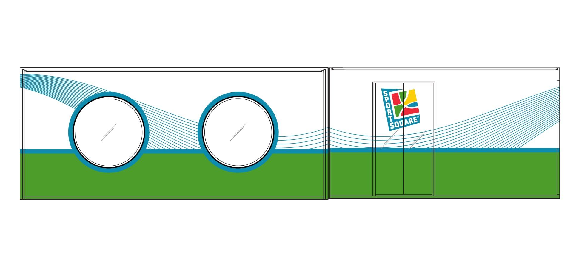 Sports Square branding concept
