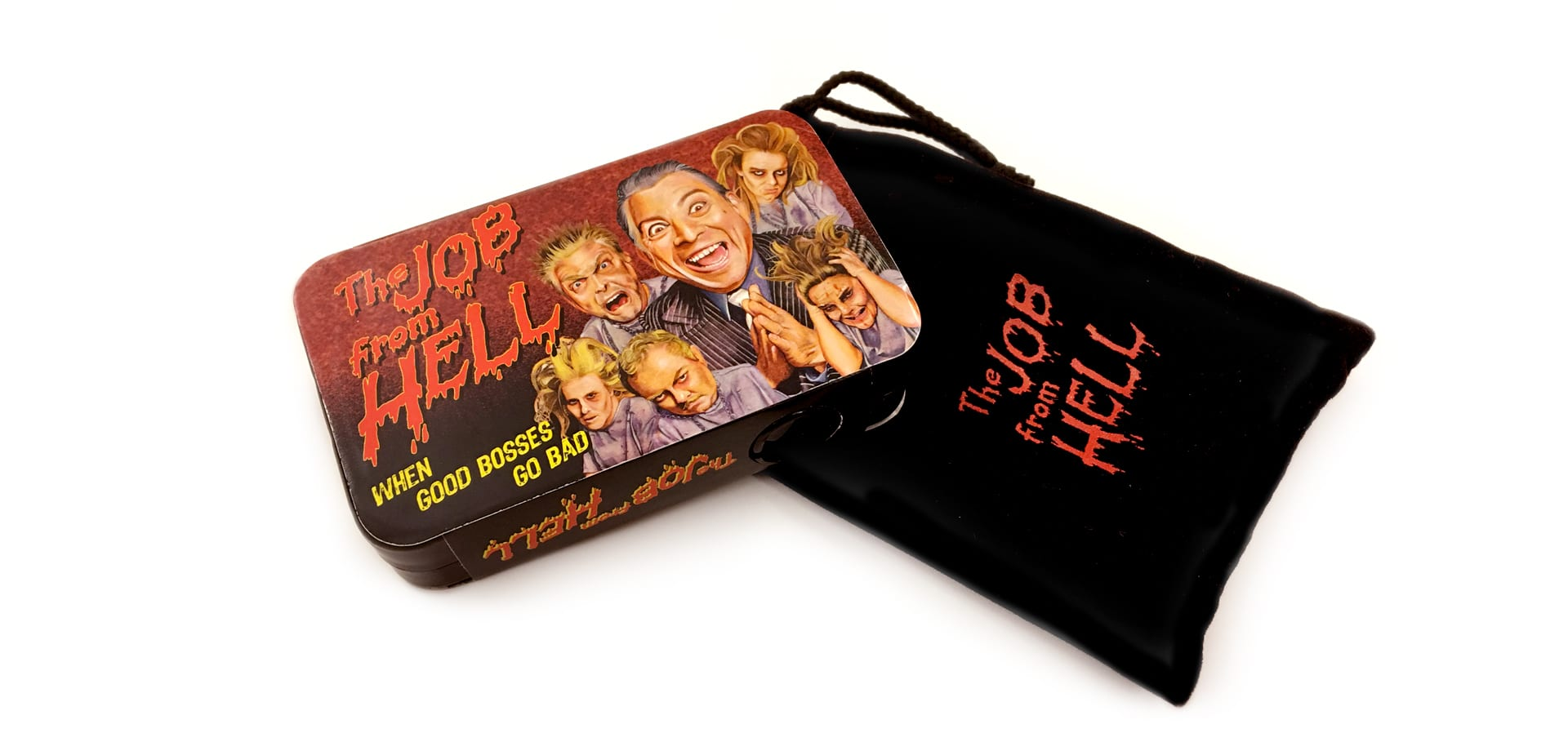 """The Job from Hell"" branded items"