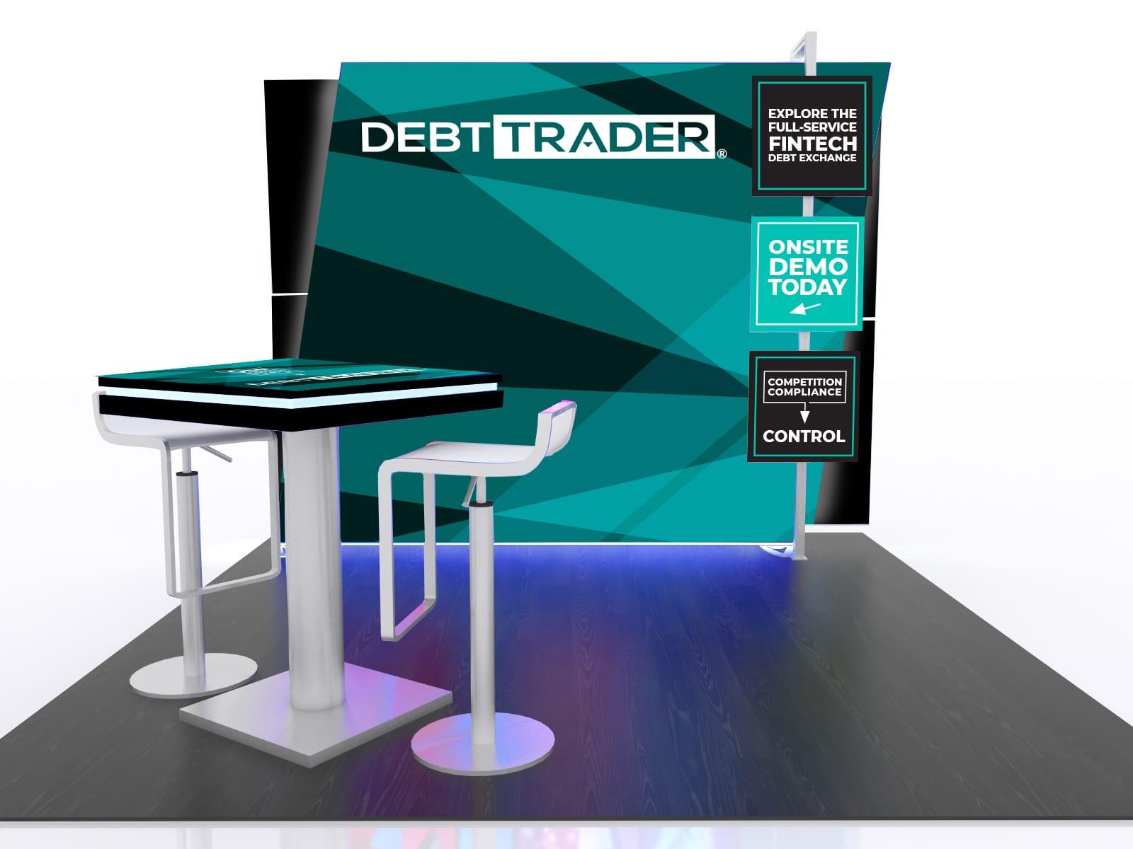 DebtTrader background