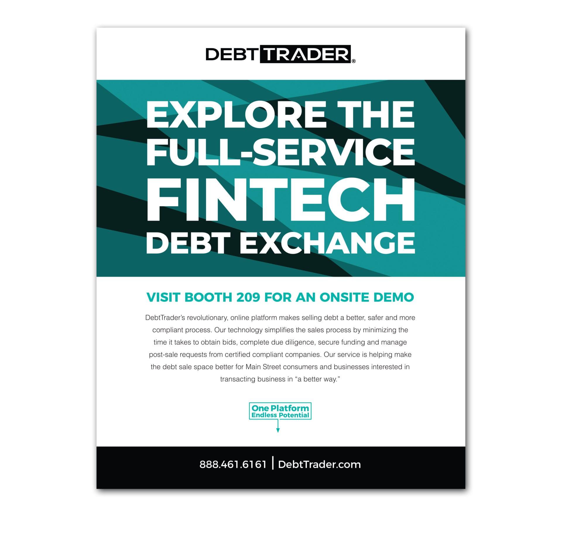 DebtTrader Tradeshow sign