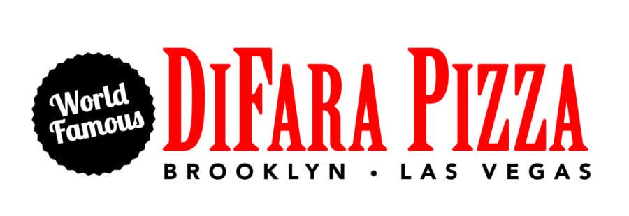 DiFara Pizza logo, a sister restaurant of Dom Demarco's