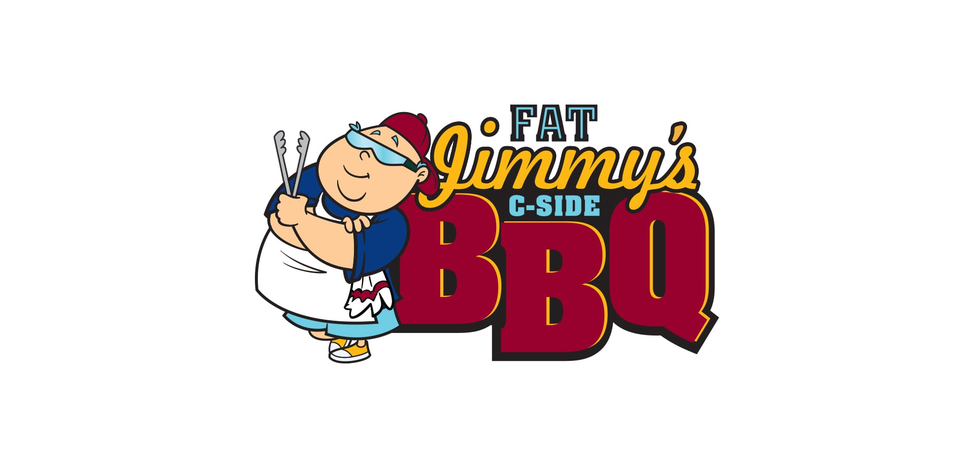The logo for Fat Jimmy's C-Side BBQ, a restaurant on the Carnival Cruise Line