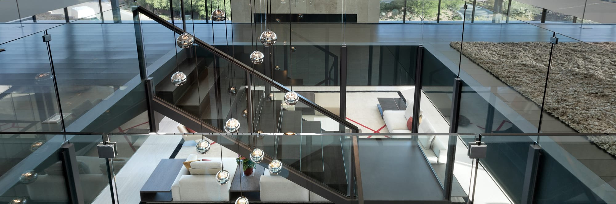 JD Stairs metal work in a custom home