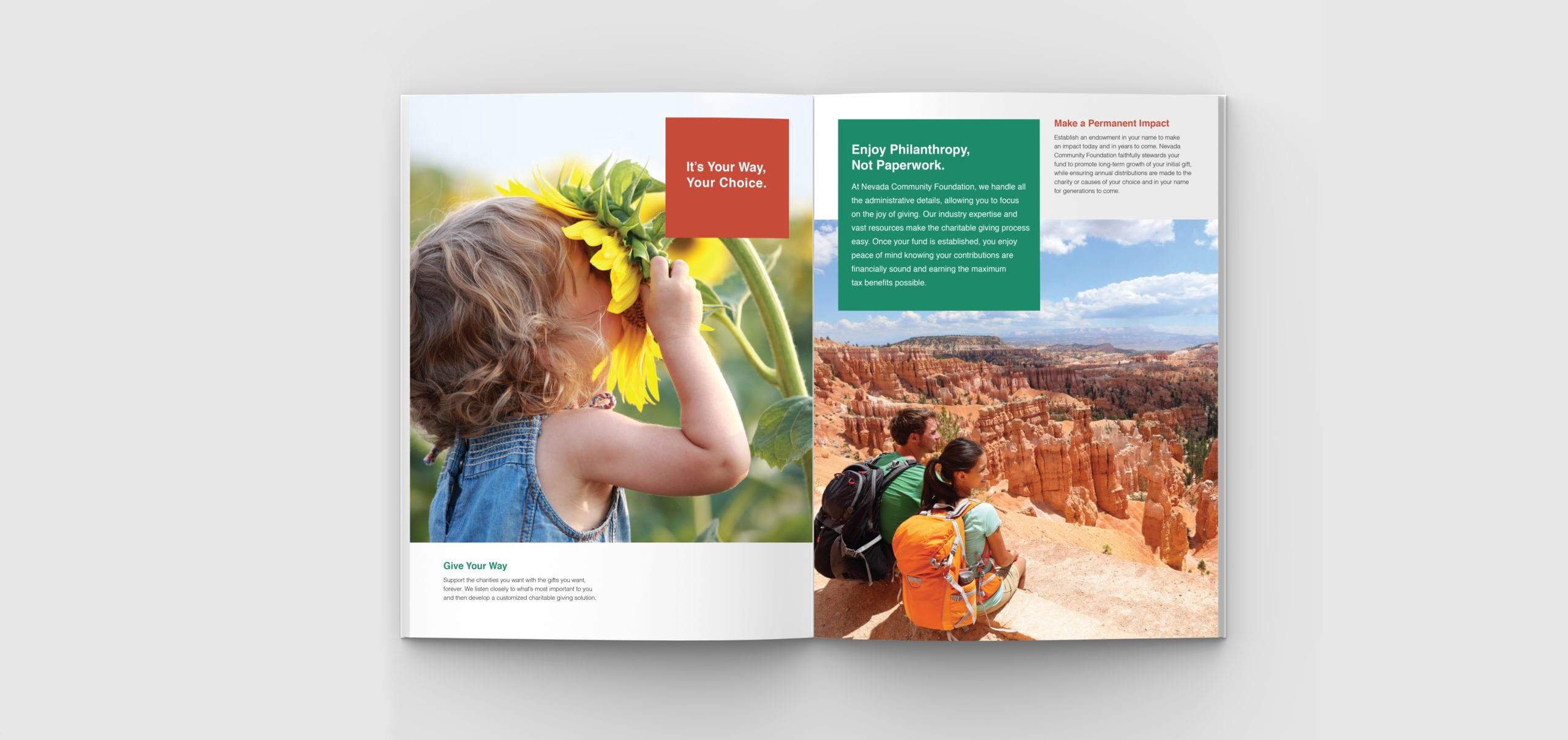 Nevada Community Foundation brochure