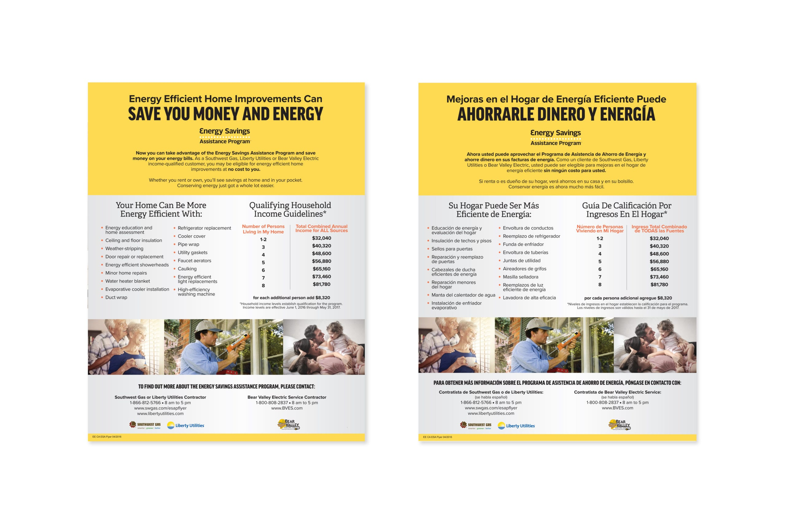 An educational document from Southwest Gas on how to save energy.