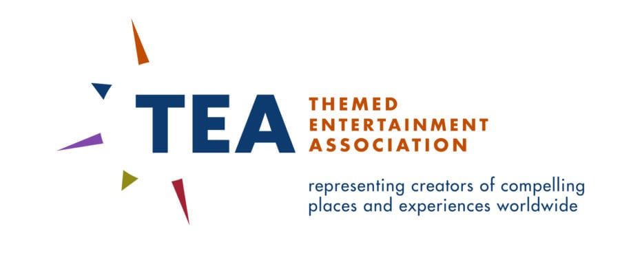 Themed Entertainment Association logo, designed by Canyon Creative
