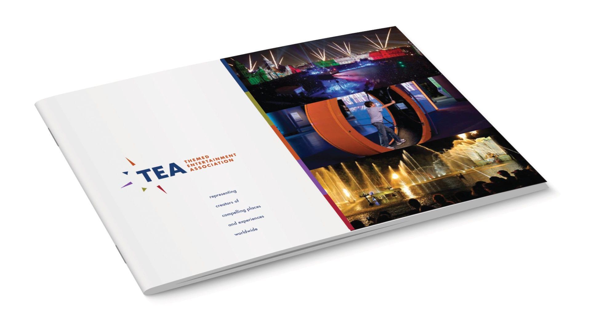 The Themed Entertainment Association brochure