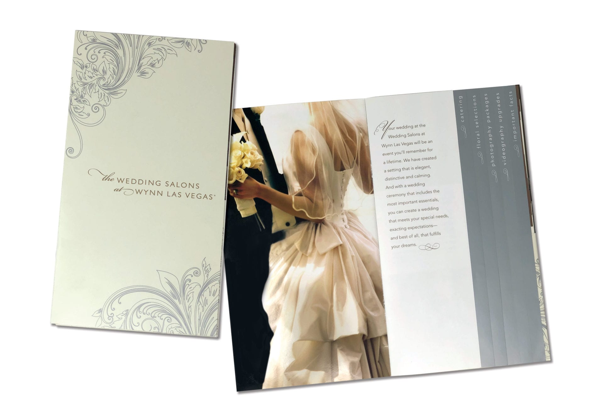 Wynn Las Vegas wedding brochure