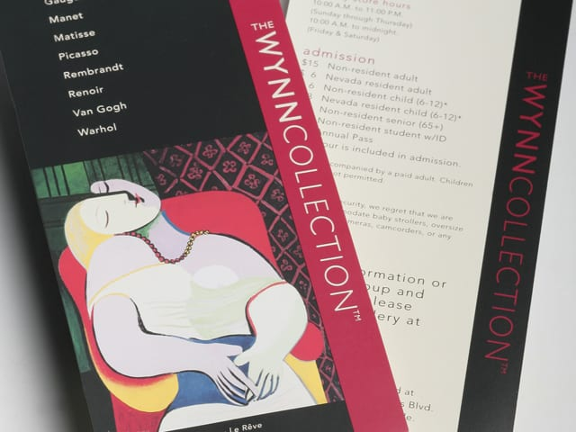 A brochure for the Wynn Collection