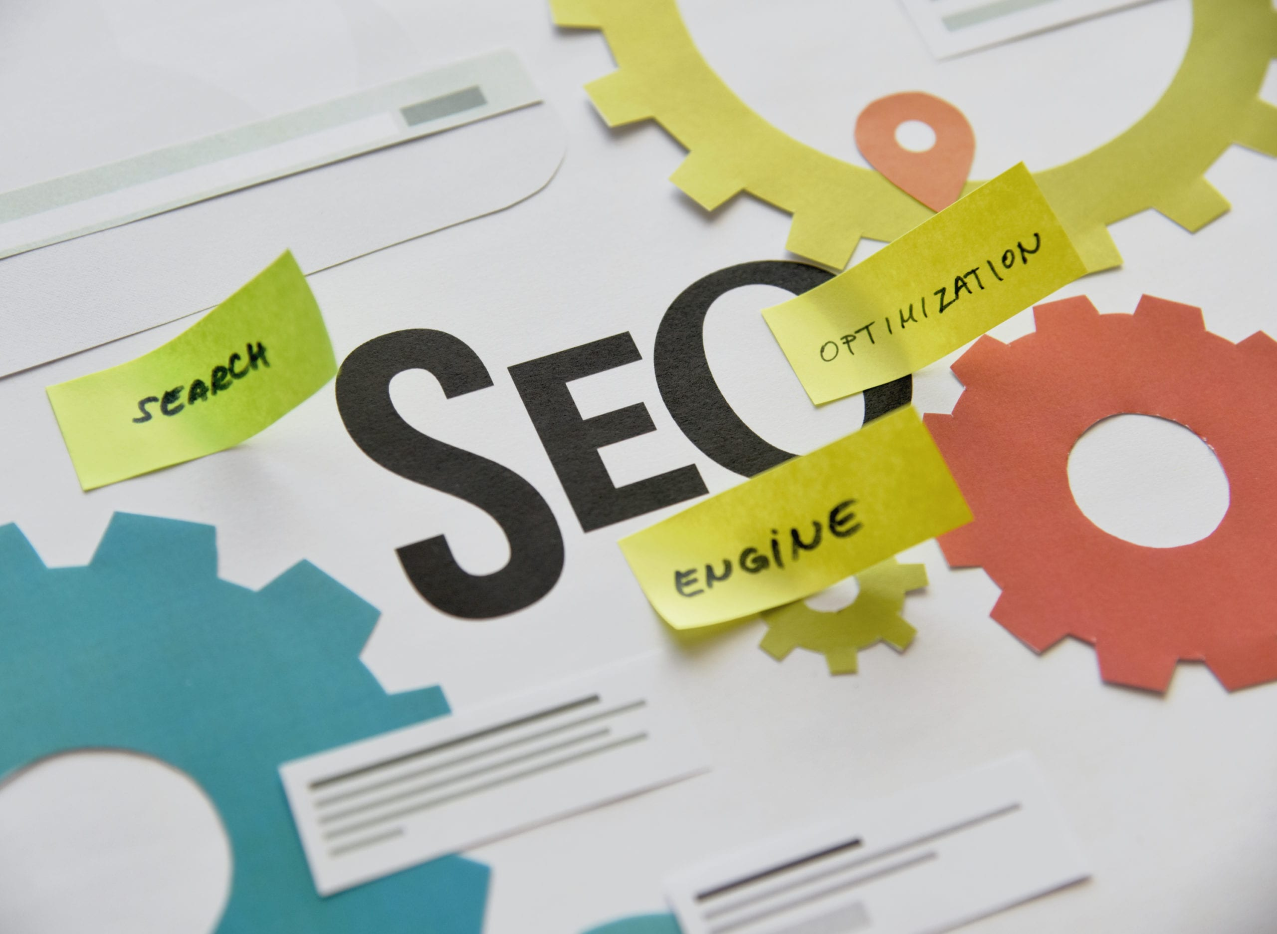 What is SEO? A picture illustrating the process.