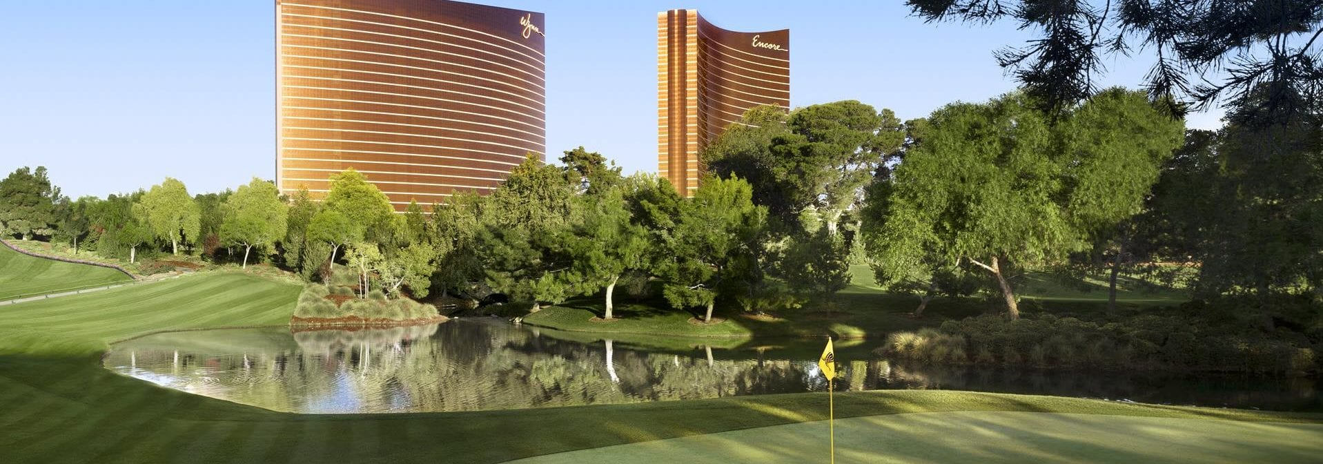 The Wynn and Encore Las Vegas buildings