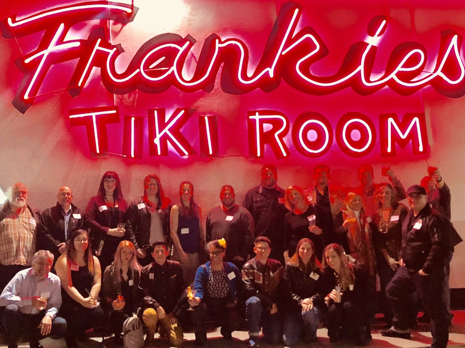The Themed Entertainment Association meeting at Frankie's Tiki Room
