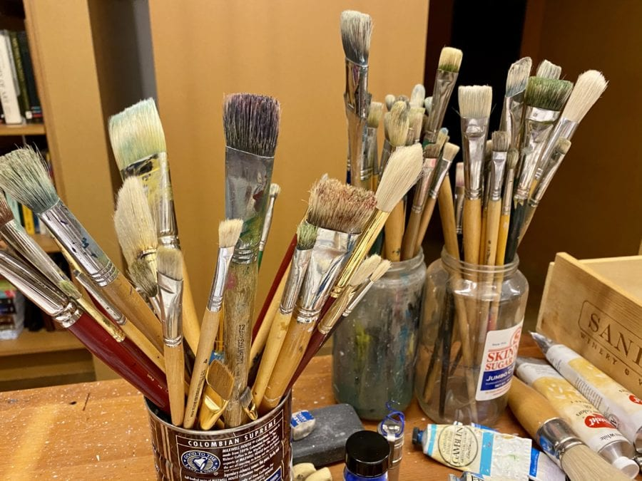 Dale's paint brushes