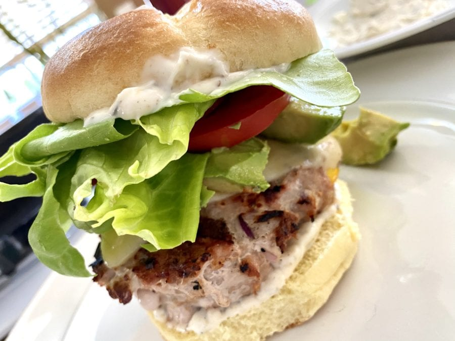 Ann Sprague's turkey burger, work-life balance during COVID-19 includes cooking of course.